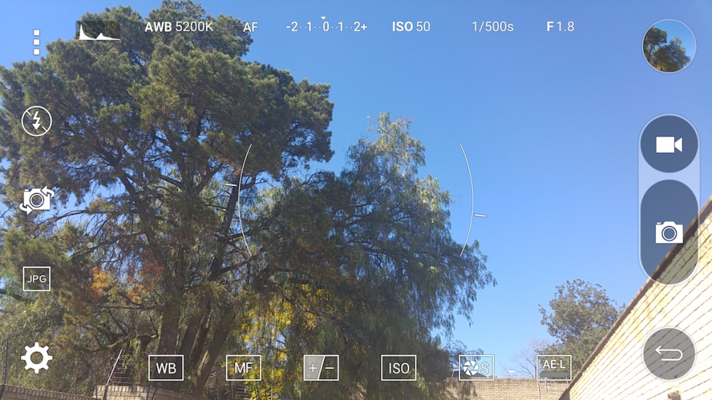 G4 Camera Interface