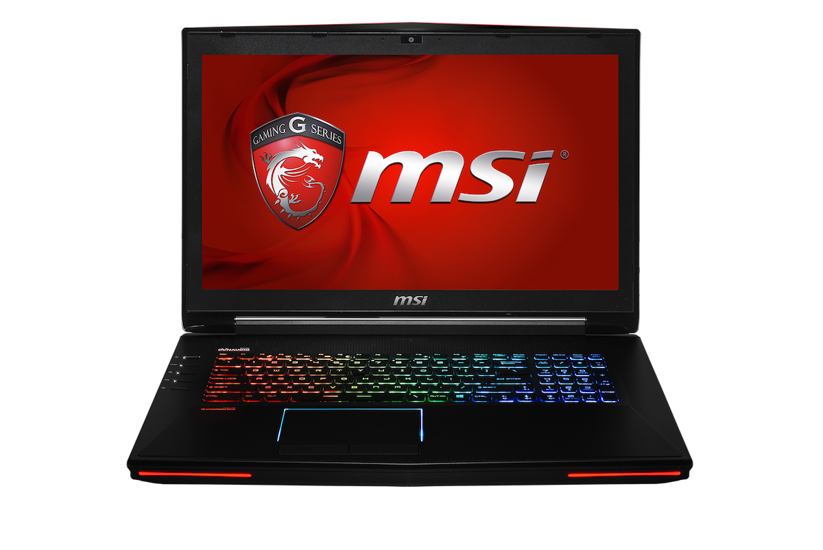 MSI GT72 Front