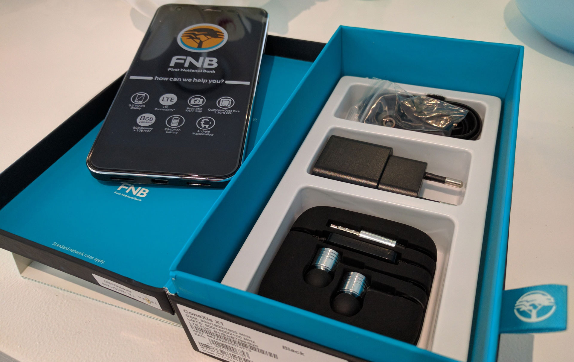 FNB-ConeXis-X1-package