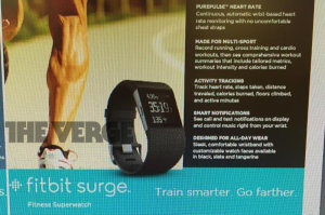Fitbit Surge The Verge
