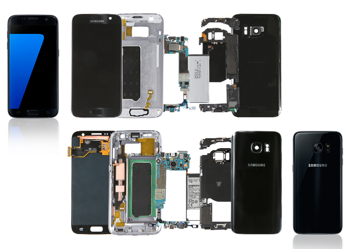 Galaxy S7 Exploded