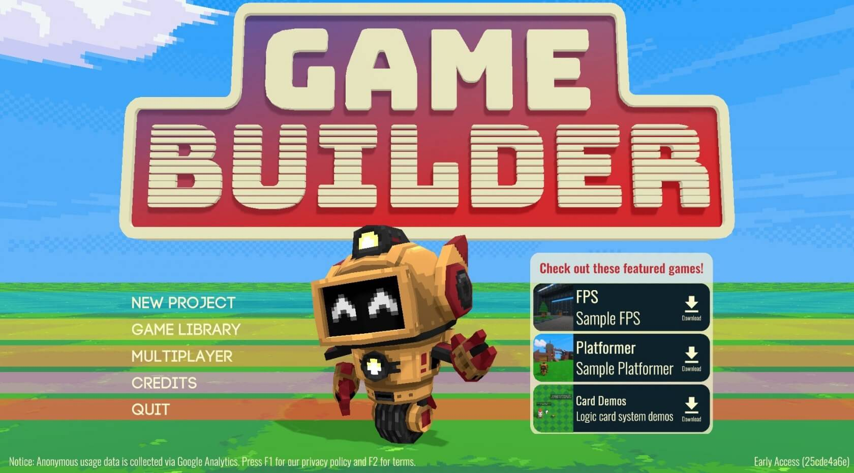 drag and drop game maker free