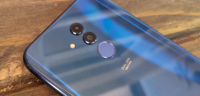 Huawei Mate 20 Lite front
