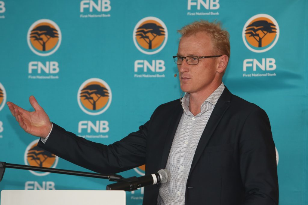 """Behold the myriad ways to pay"" - FNB CEO Jacques Cilliers (He didn't actually say that)"
