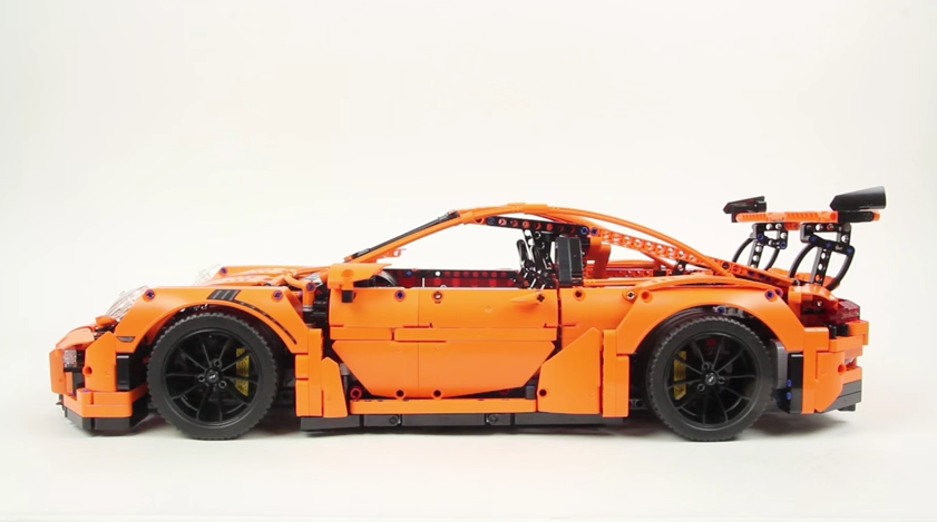 This Is A 25 Minute Time Lapse Of The Lego Technic Porsche
