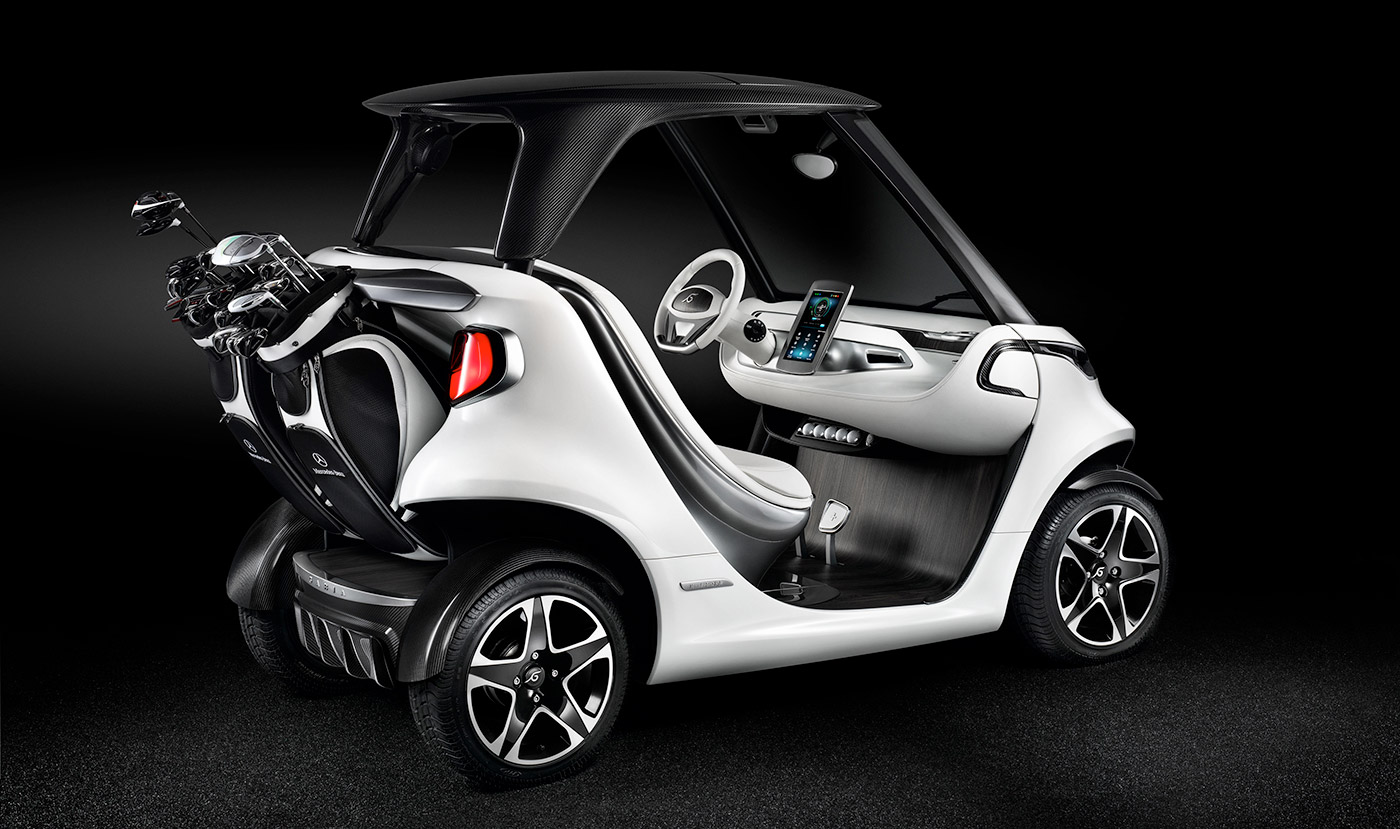 Mercedes-Benz Garia Golf Car