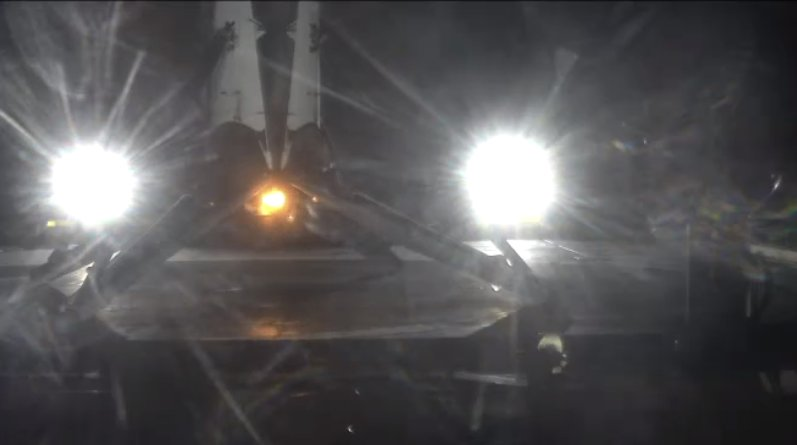 SpaceX 2 Night