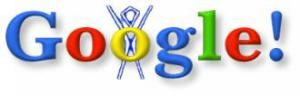 The first ever Google Doodle from August 1998