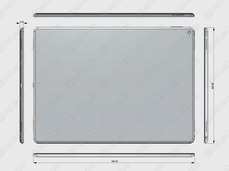 iPad Pro Render Leak