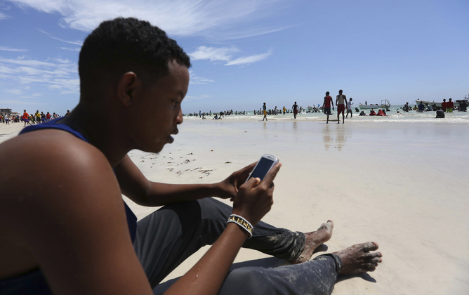 Africa faces high data costs but it does not deter Africans from using the internet. Reuters/Feisal Omar