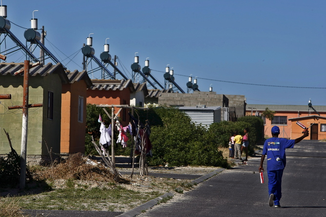 Clean Development Mechanism project in Cape Town, South Africa