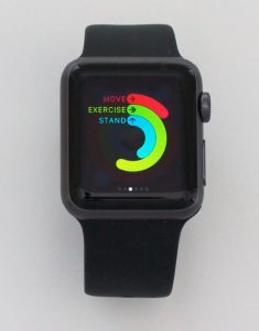 Space grey with black strap