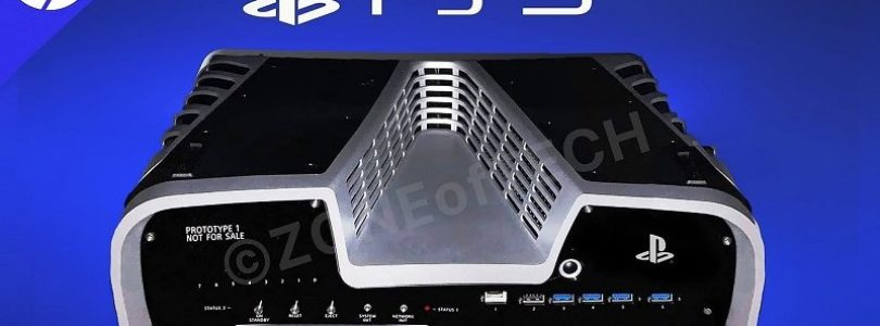 Is this our first look at Sony's PlayStation 5?