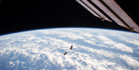 We're using lasers and toaster-sized satellites to beam information faster through space