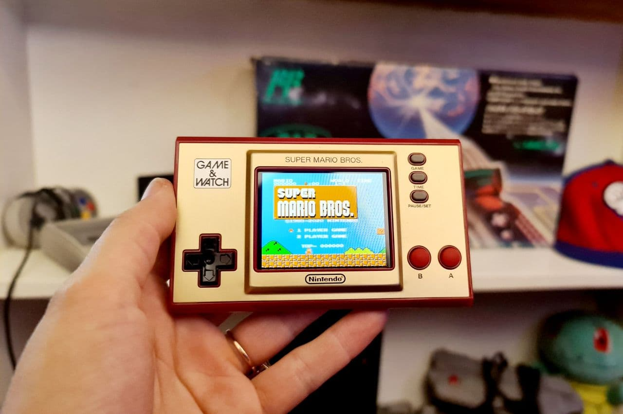 Game and Watch: Super Mario Bros Review - Celebrating in style - Stuff Magazines