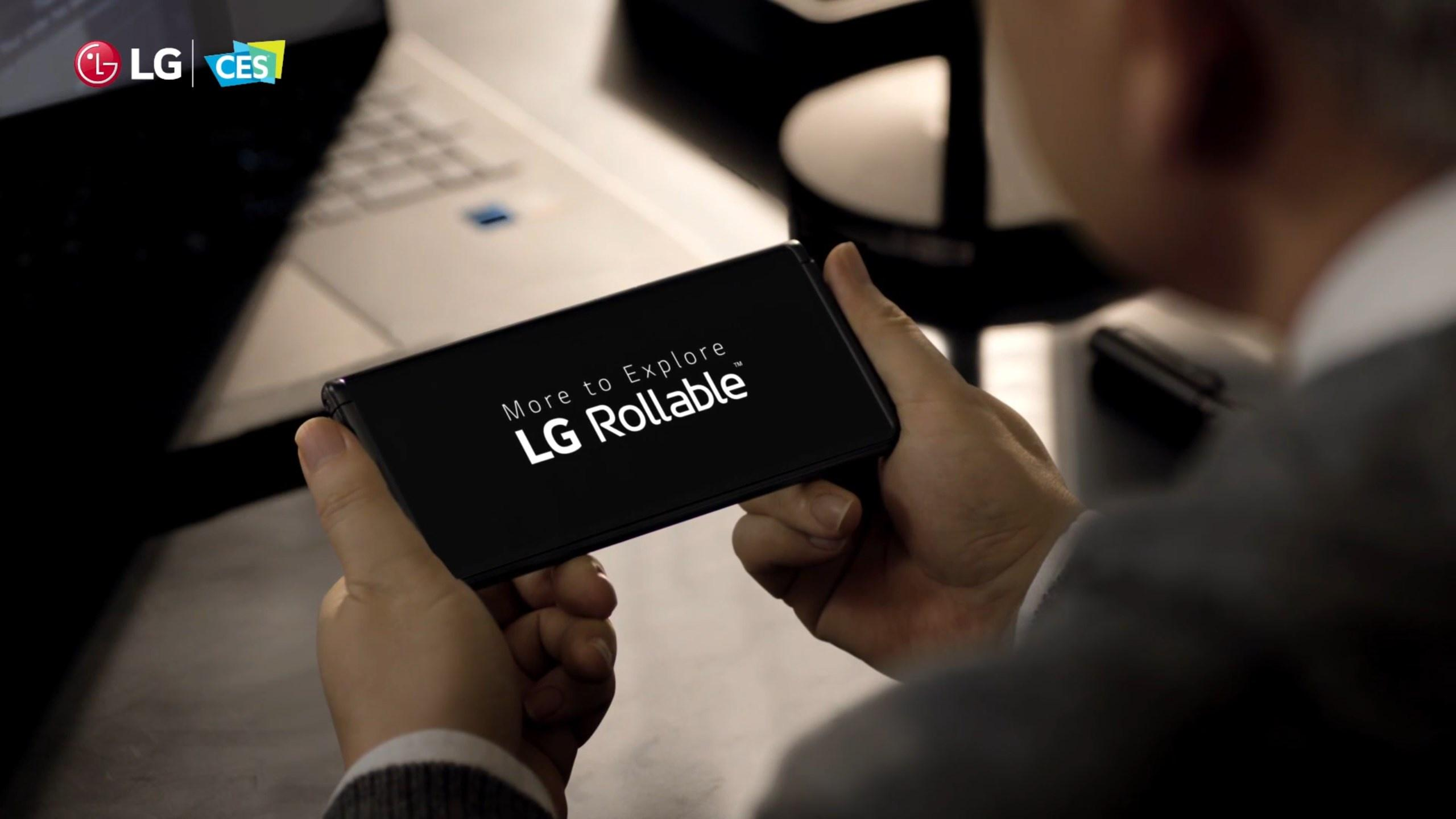 LG Rollable Main