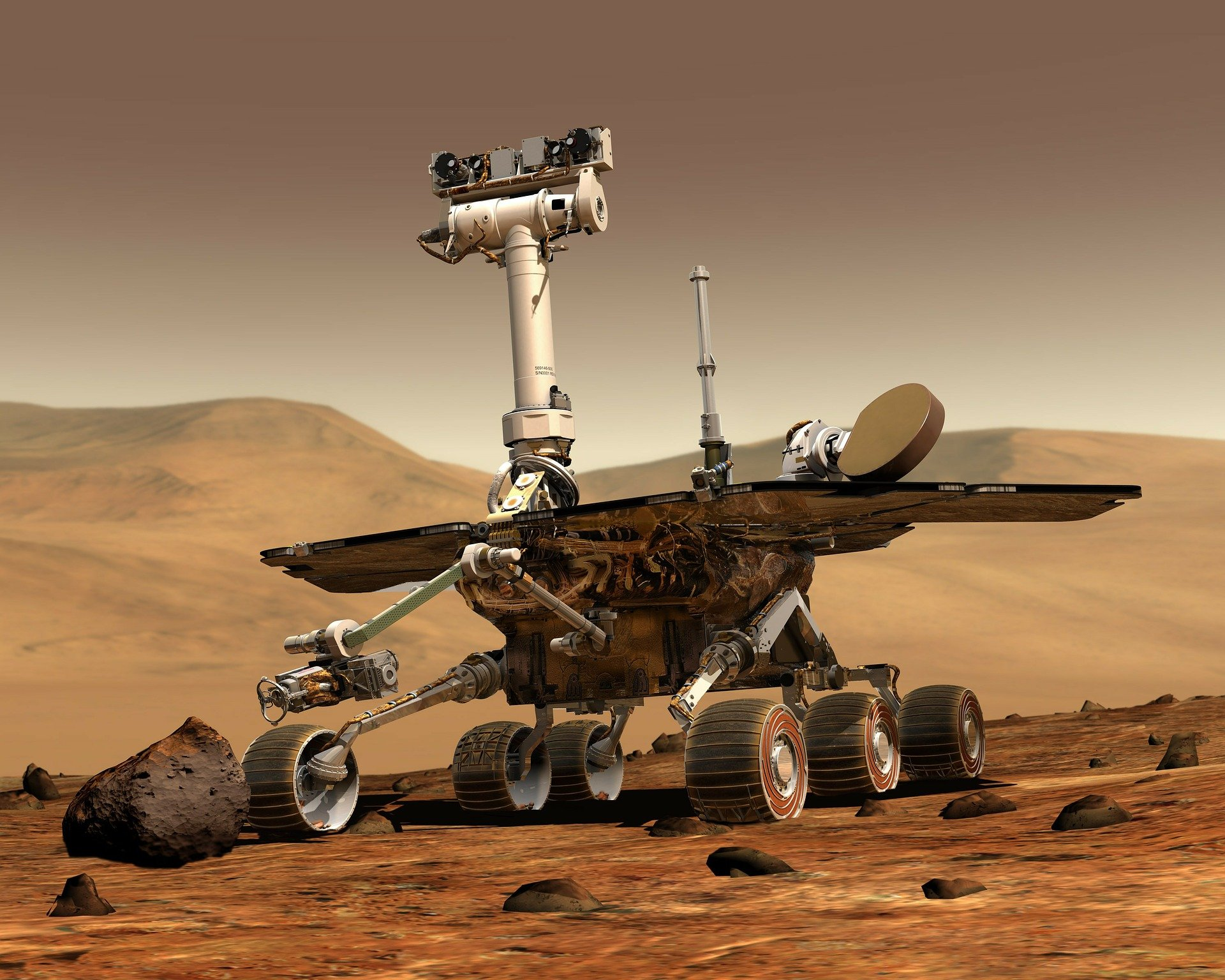 mars space artificial intelligence