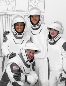 SpaceX crew suits