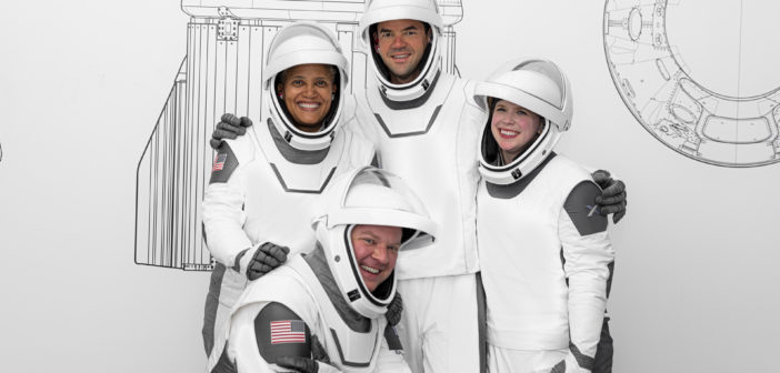 SpaceX crew suits Inspiration4