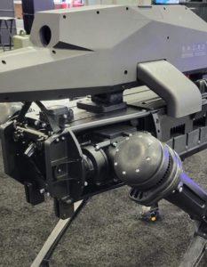 SPUR robot weapon